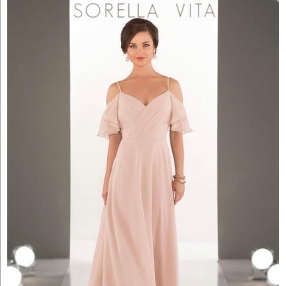 SORELLA VITA Dresses & Skirts - Sorella Vita light pink bridesmaid dress